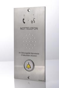 Lift Notrufsystem Frotplatte Kabine